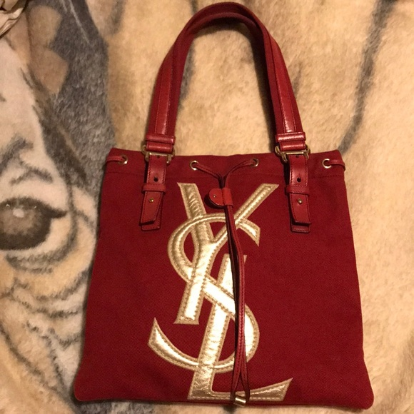 🔥Beautiful YSL Yves Saint Laurent Tote Handbag. M 5a9a3e682c705d3a53ff59ac 3d381d633edee
